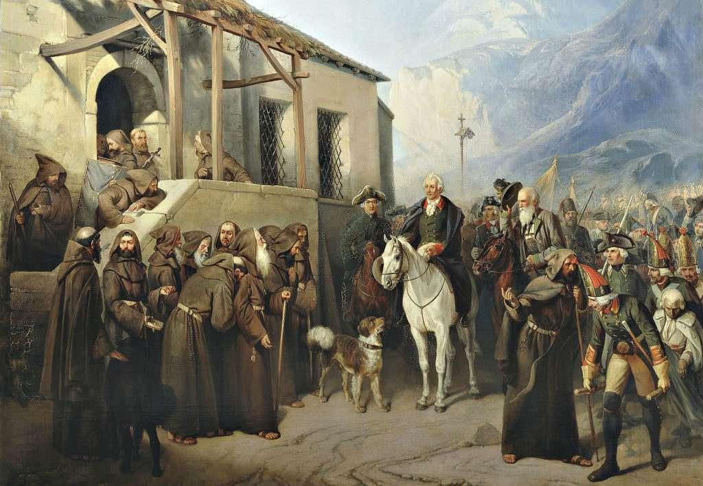 Суворов - великий русский полководец
