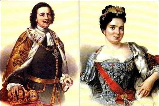 Екатерина I и ее путь к престолу