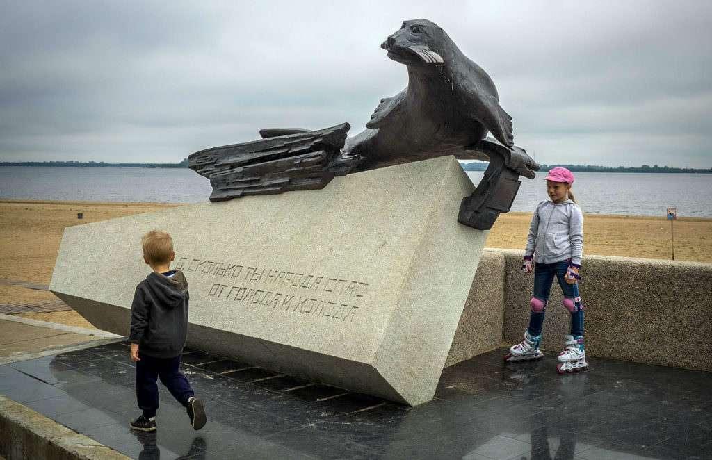 Архангельск – город воинской славы