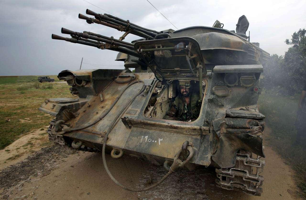 «Шилки» снова заметили в Сирии