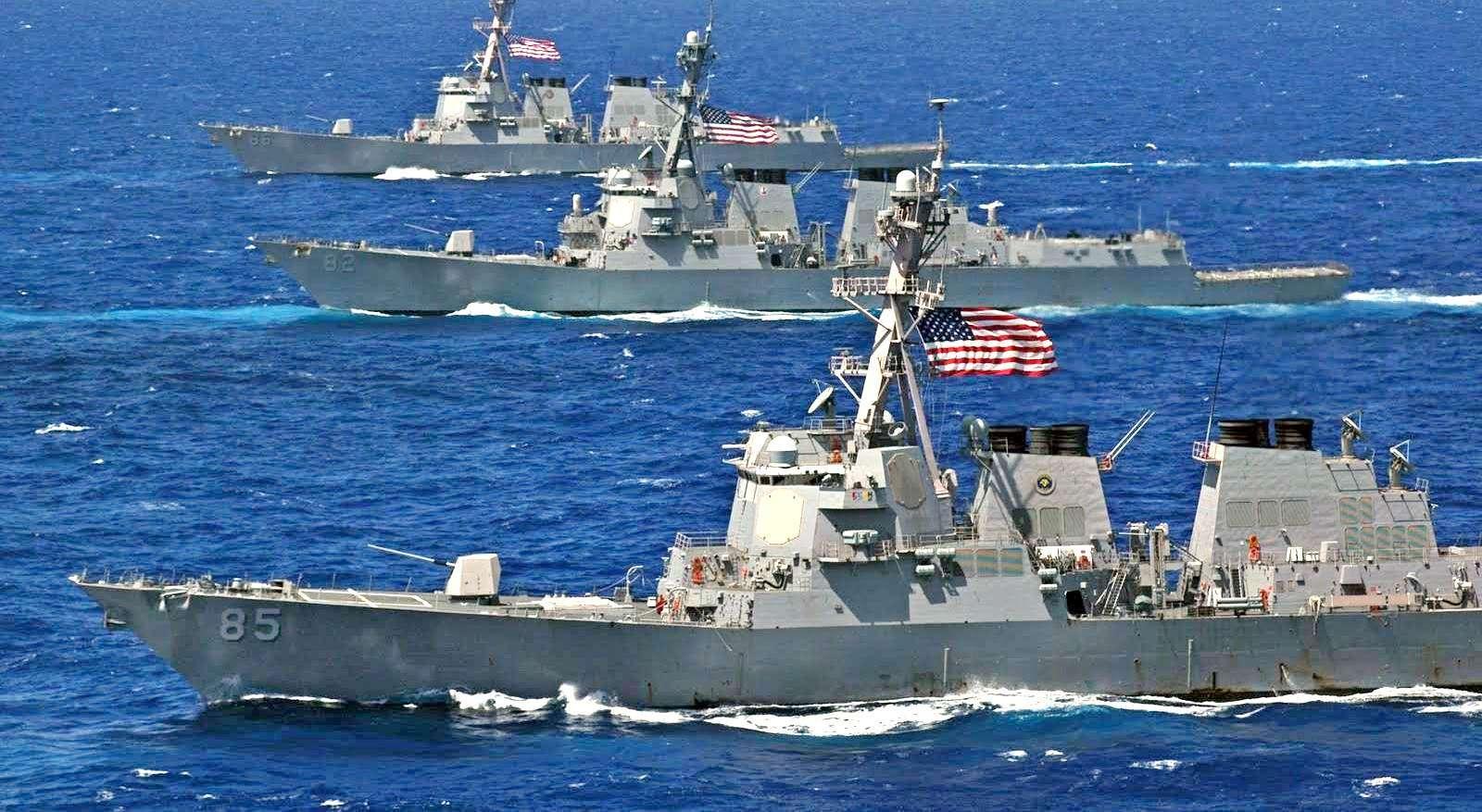 Военные судна НАТО направляются в черноморский акваторий