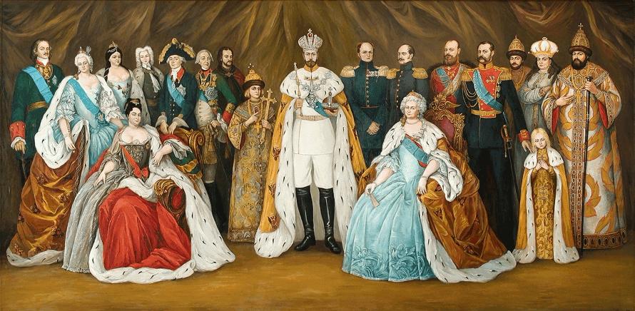 Начало рода и годы правления династии Романовых