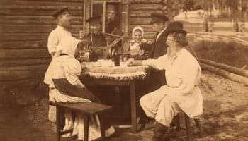 О полусухом запрете на алкоголь 1914 года