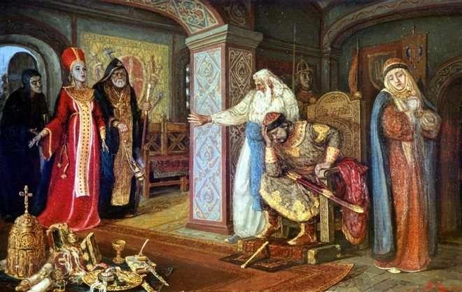 полоцкая княжна Рогнеда стала женой Владимира