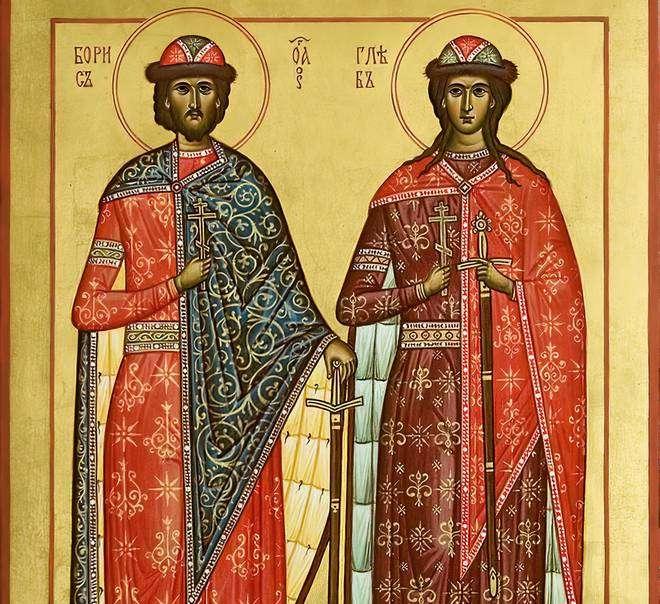 князья Борис и Глеб