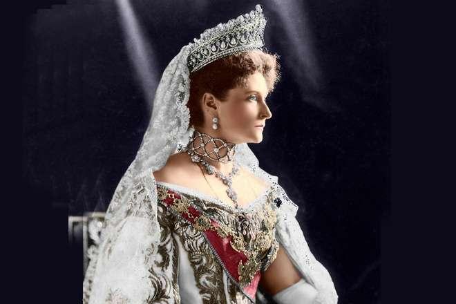The last Empress of Russia Alexandra Feodorovna wife of Nicholas II