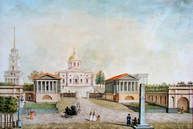 The estate of A.A.  Arakcheeva Gruzino